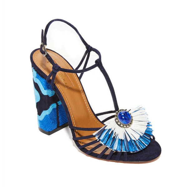 Aquazzura Ink Samba Sandals