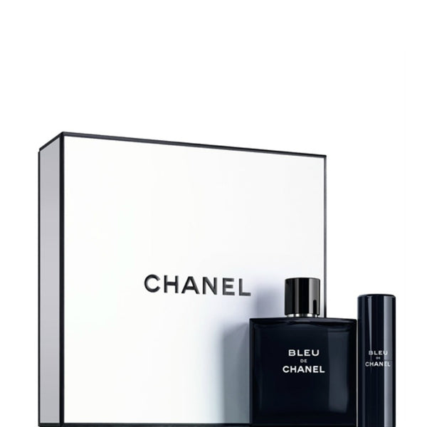 Chanel Bleu De Eau De Toilette Travel Spray Set