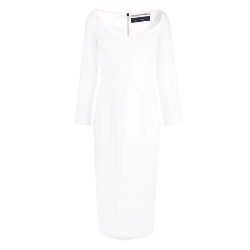 Roland Mouret White Ardon Dress