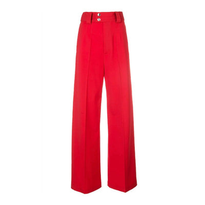 Proenza Schouler Cherry Wool Pants