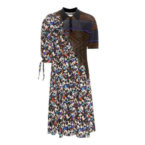 Maison Margiela Multicolor Mouse Print Dress