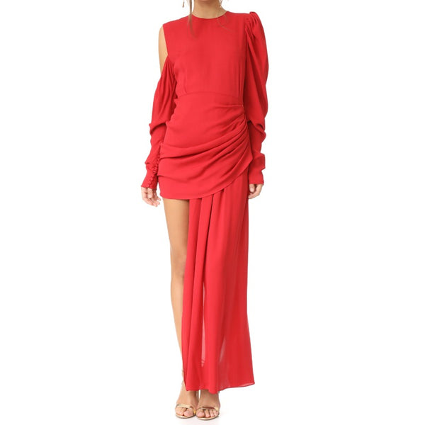 Magda Butrym Red Sevilla Dress