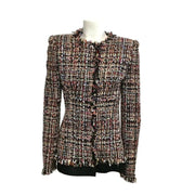 Alexander McQueen Black Multi Tweed Blazer