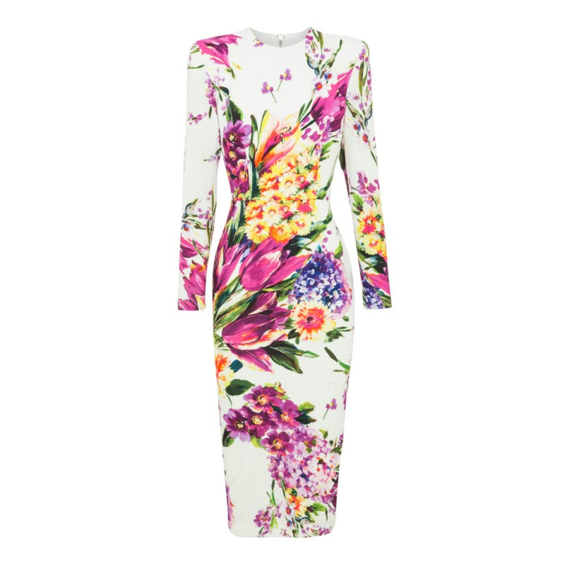 Alex Perry Floral Multi Manon Work/Office Dress
