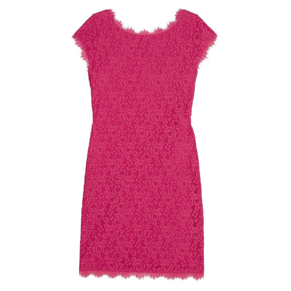 Diane von Furstenberg Rose Pink Barbara Dress
