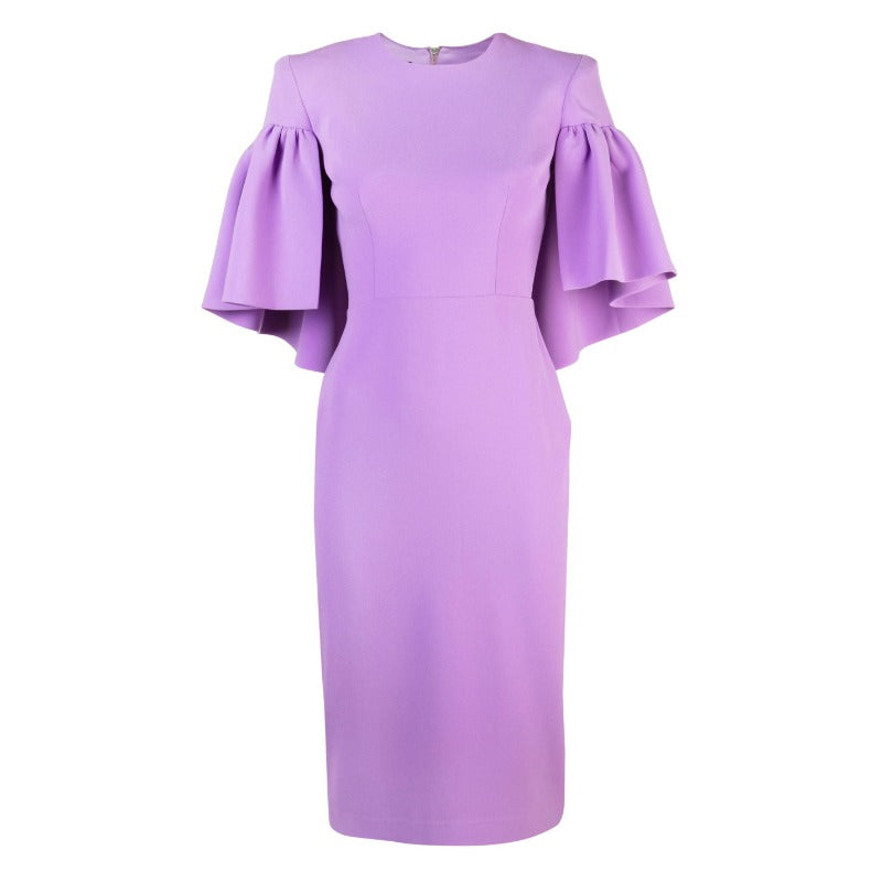 Alex Perry Lilac Coralie Dress