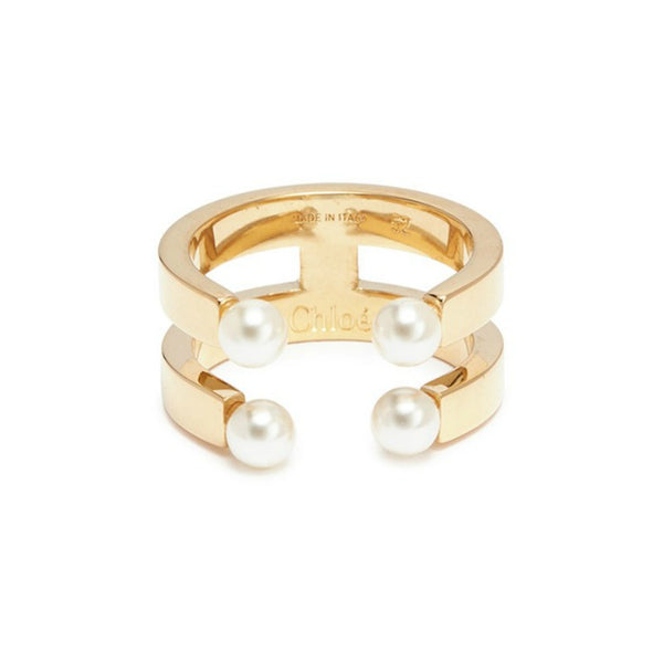 Chloé Goldtone Darcy Ring