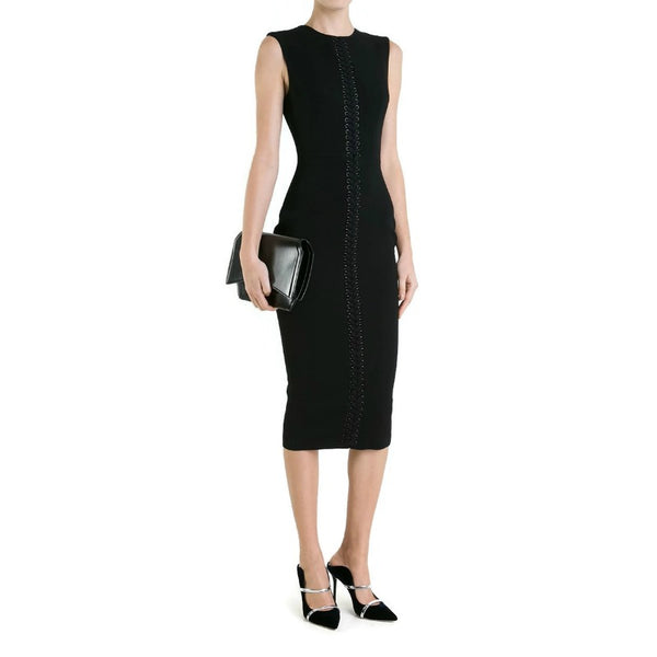 Alex Perry Black Miller Dress