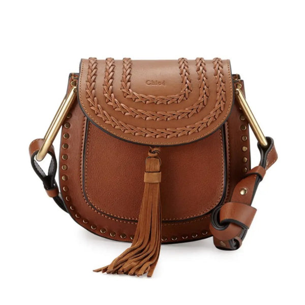 Chloé Caramel Mini Hudson Saddle Bag