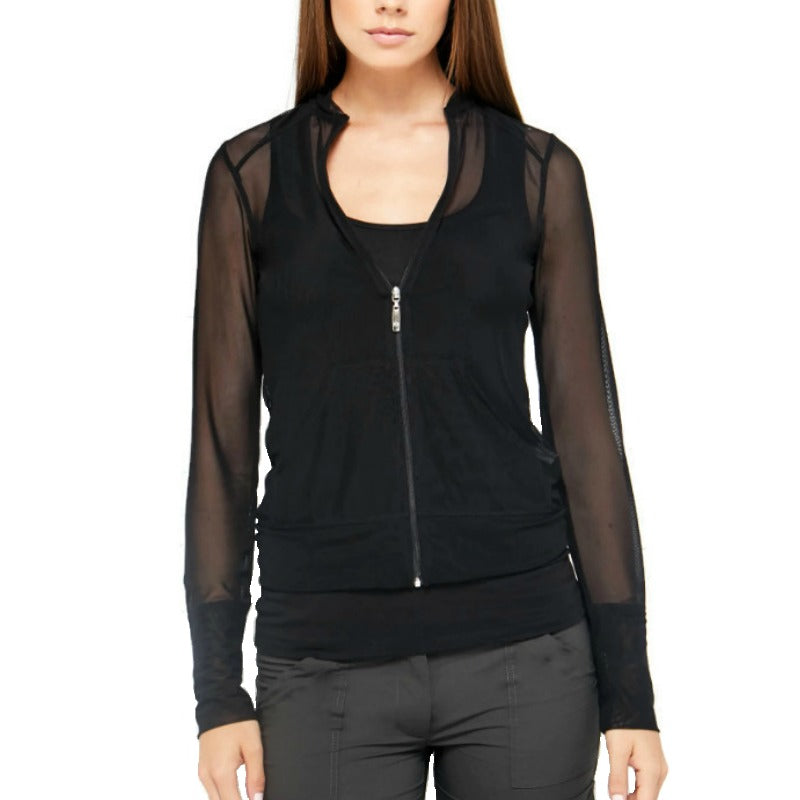 Anatomie Black Bailey Mesh Jacket