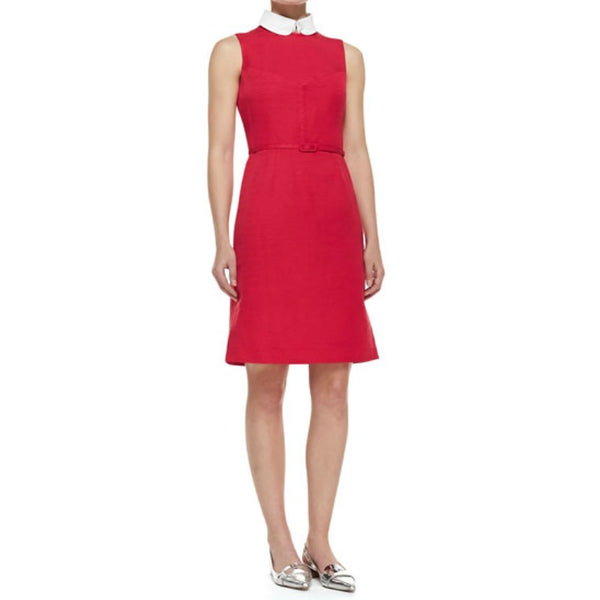 Tory Burch Red / White Kimberly Dress
