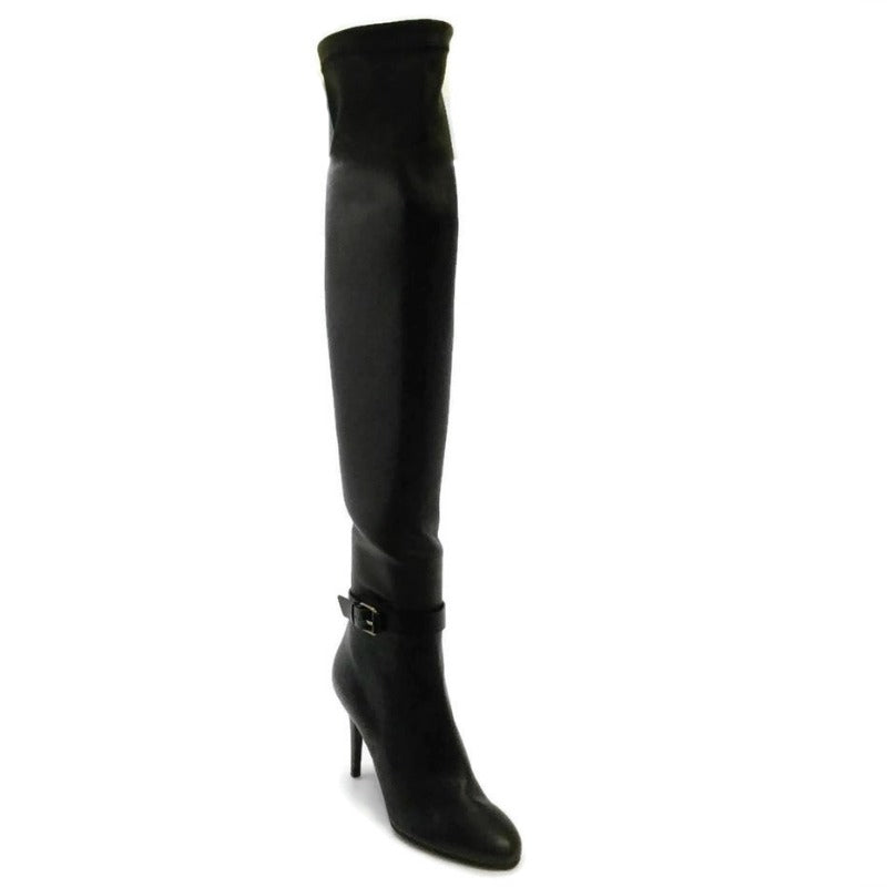 Jimmy Choo Black Over The Knee Boots