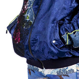 Angel Chen Multicolor Dragon Jacquard Patched Jacket