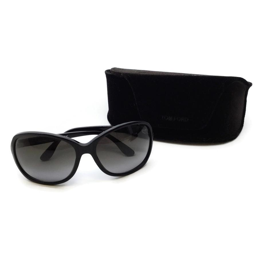 Tom Ford Black Over Sized Frames Sunglasses