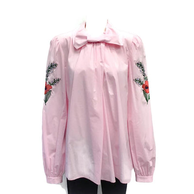 Vivetta Pink Embroidered Blouse