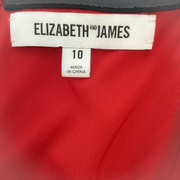 Elizabeth and James Red Margo Dress