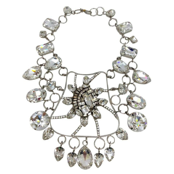 Crystal Bib Necklace by Erickson Beamon