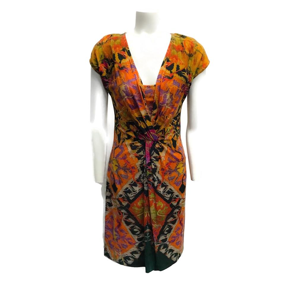 Etro Multi-color Wool Dress