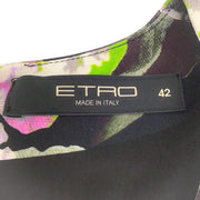 Etro Multicolor Paisley Dress