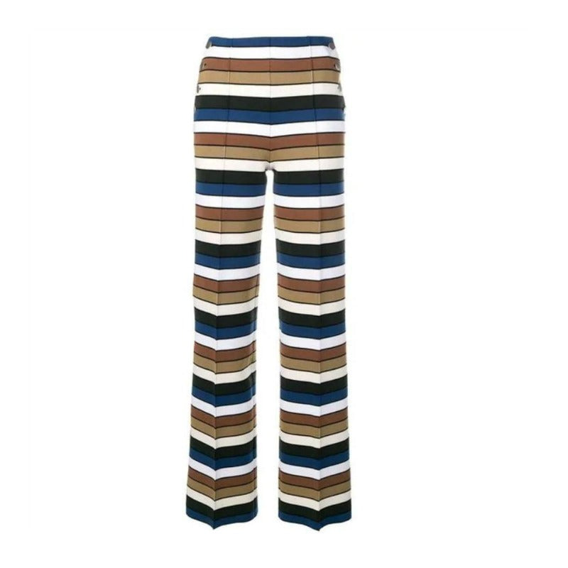 Sonia Rykiel Multicolor Striped Pants