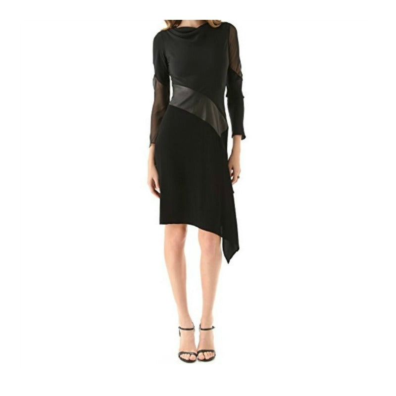Diane von Furstenberg Black/Midnight Sahib Dress