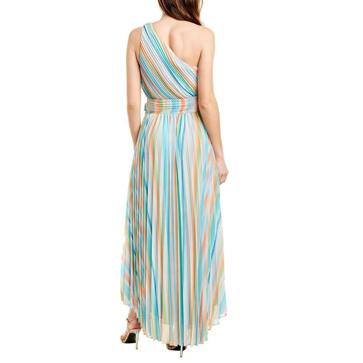 Ramy Brook Multicolor Pleated Formal Dress