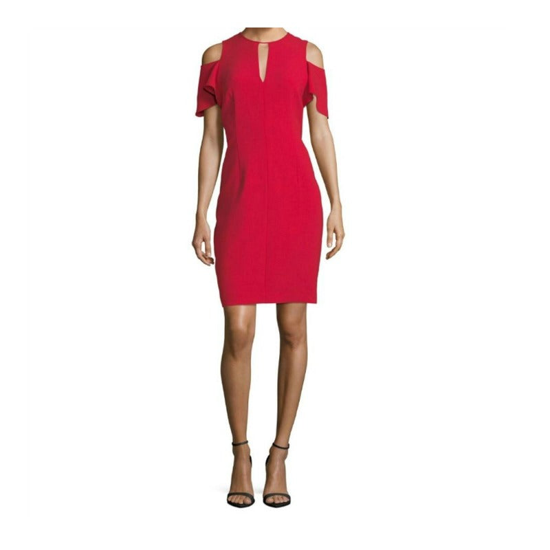 Elie Tahari Red Oleandra Dress