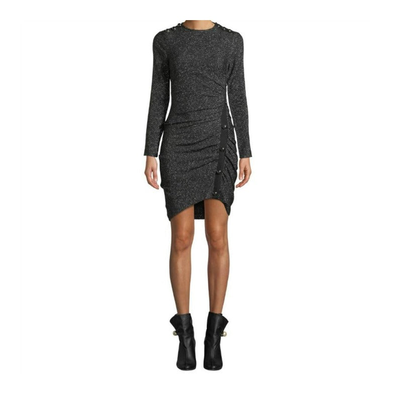 Veronica Beard Black/Silver Ira Dress