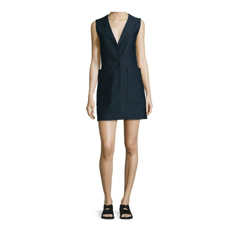 Rag & Bone Navy Fleet Short Casual Dress