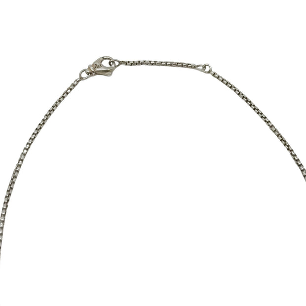 David Yurman Silver Sterling Necklace