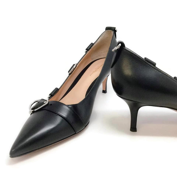 Gianvito Rossi Black Clash 55 Pumps