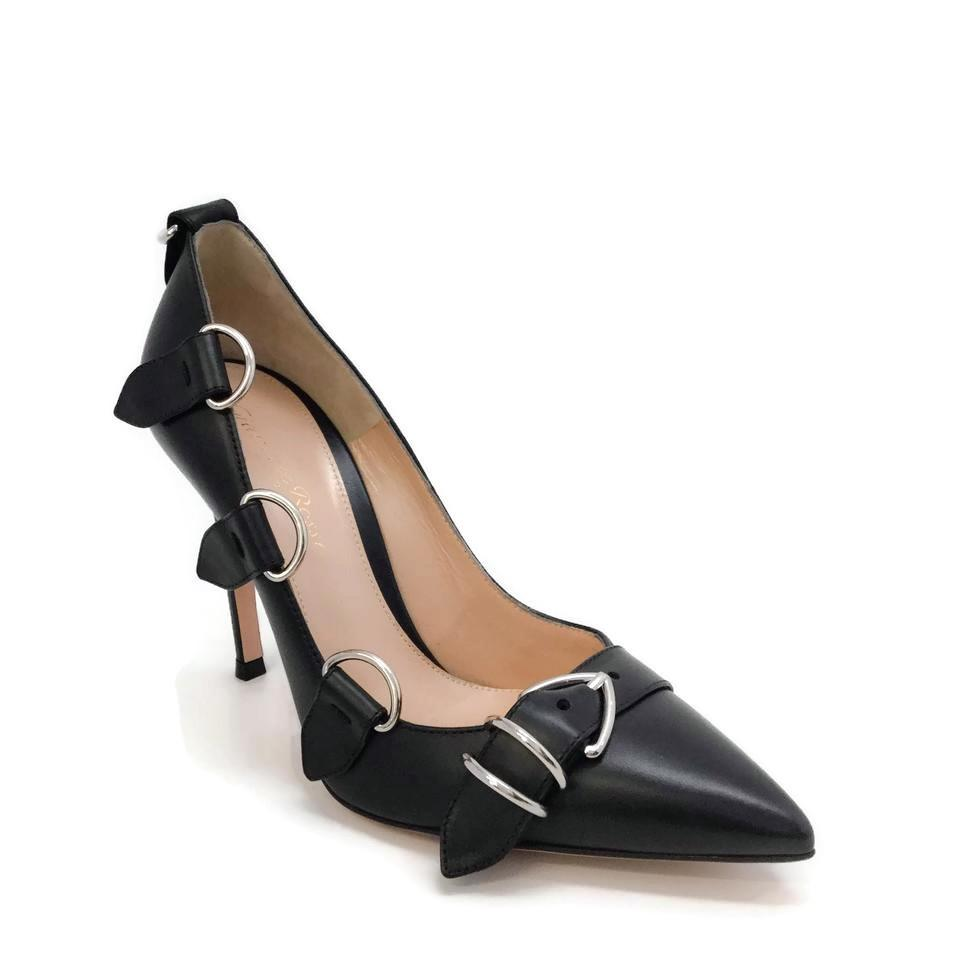 Gianvito Rossi Black Clash Pumps