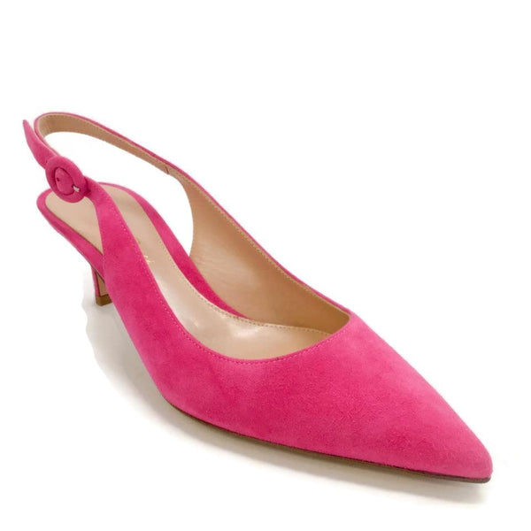 Gianvito Rossi Pink Anna Pumps