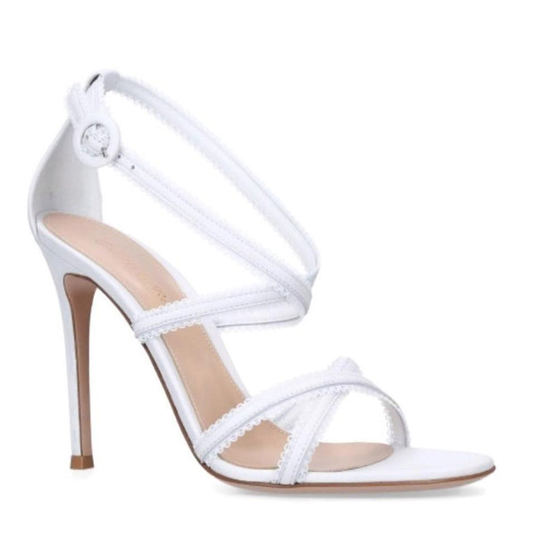 Gianvito Rossi White Dafne Pumps
