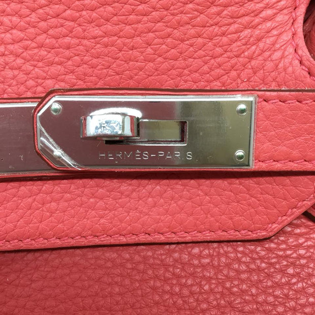 Hermès 2009 35 Cm Bougainvillea Leather Birkin Tote