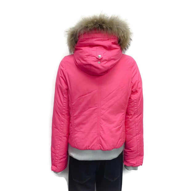 Eleven Elves Hot Pink Urban Excursion Down Puff Coat