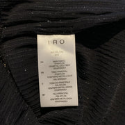 IRO Black / Silver A B Salon Night Out Dress