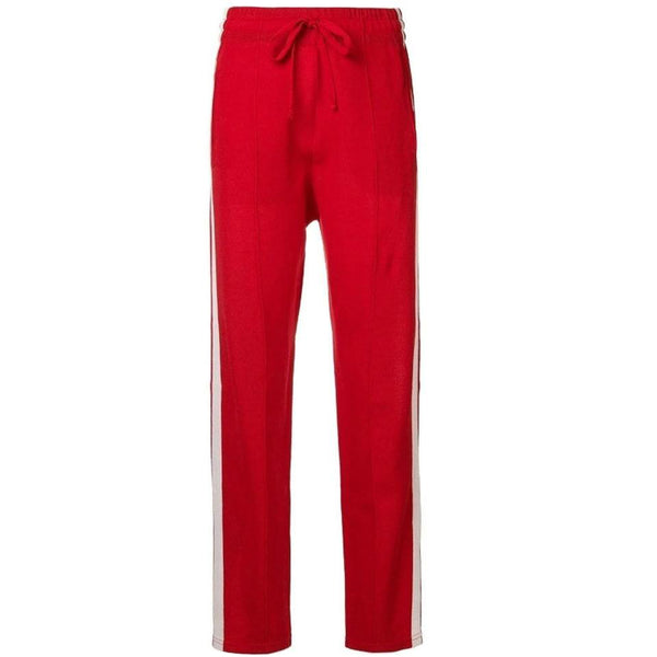 Isabel Marant Red Dario Pants