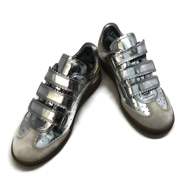 Isabel Marant Silver Beth Sneakers