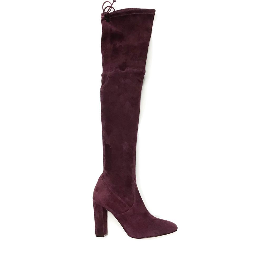 Jean-Michel Cazabat Wine Over The Knee Boots