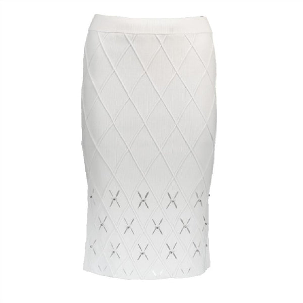 Jonathan Simkhai Bone Diamond Pencil Skirt