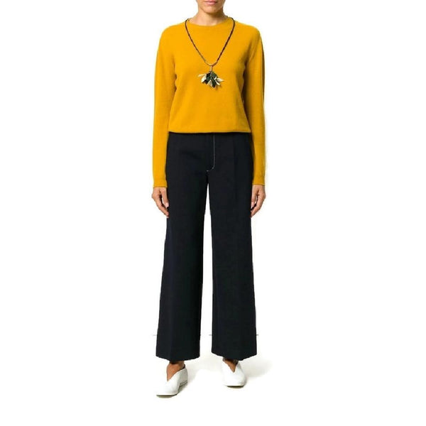 Joseph Black Ferrandi Wide Leg Pants