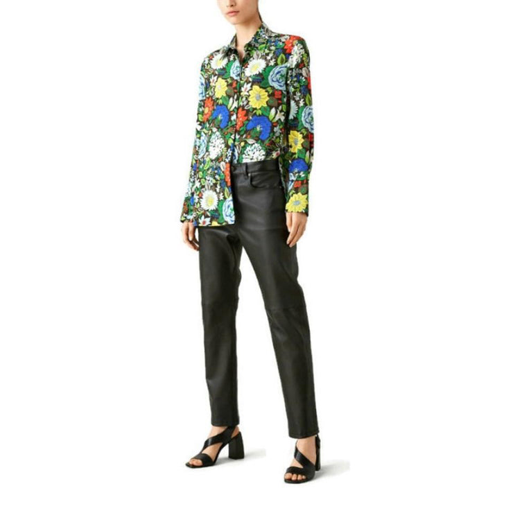 Joseph Multicolor Mason Botanical Blouse