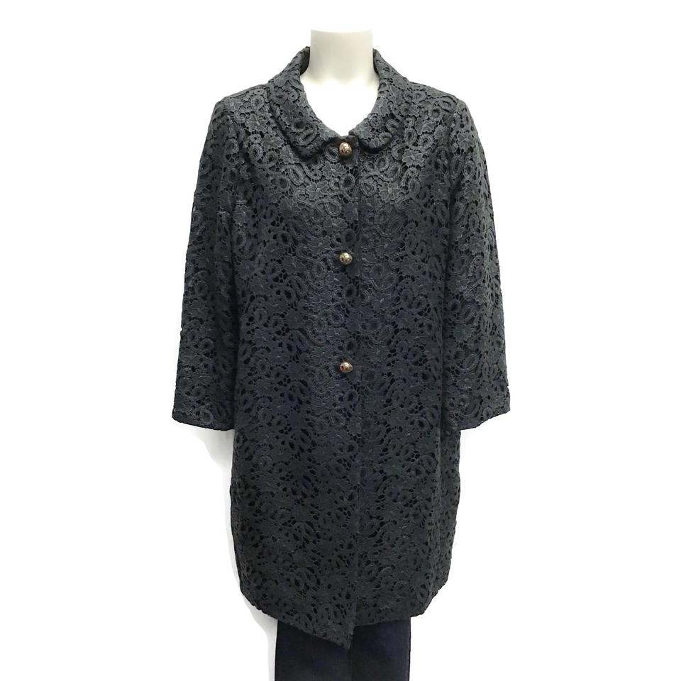 Kate Spade Black Lace Coat