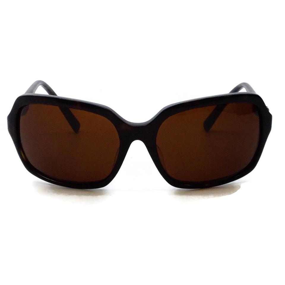 Kieselstein-Cord Brown Tortoise Alligator Sunglasses