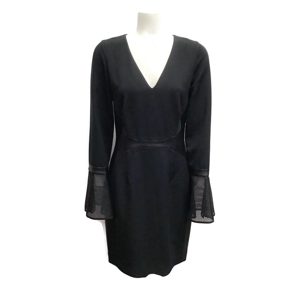 Kimora Lee Simmons Black Flare Dress