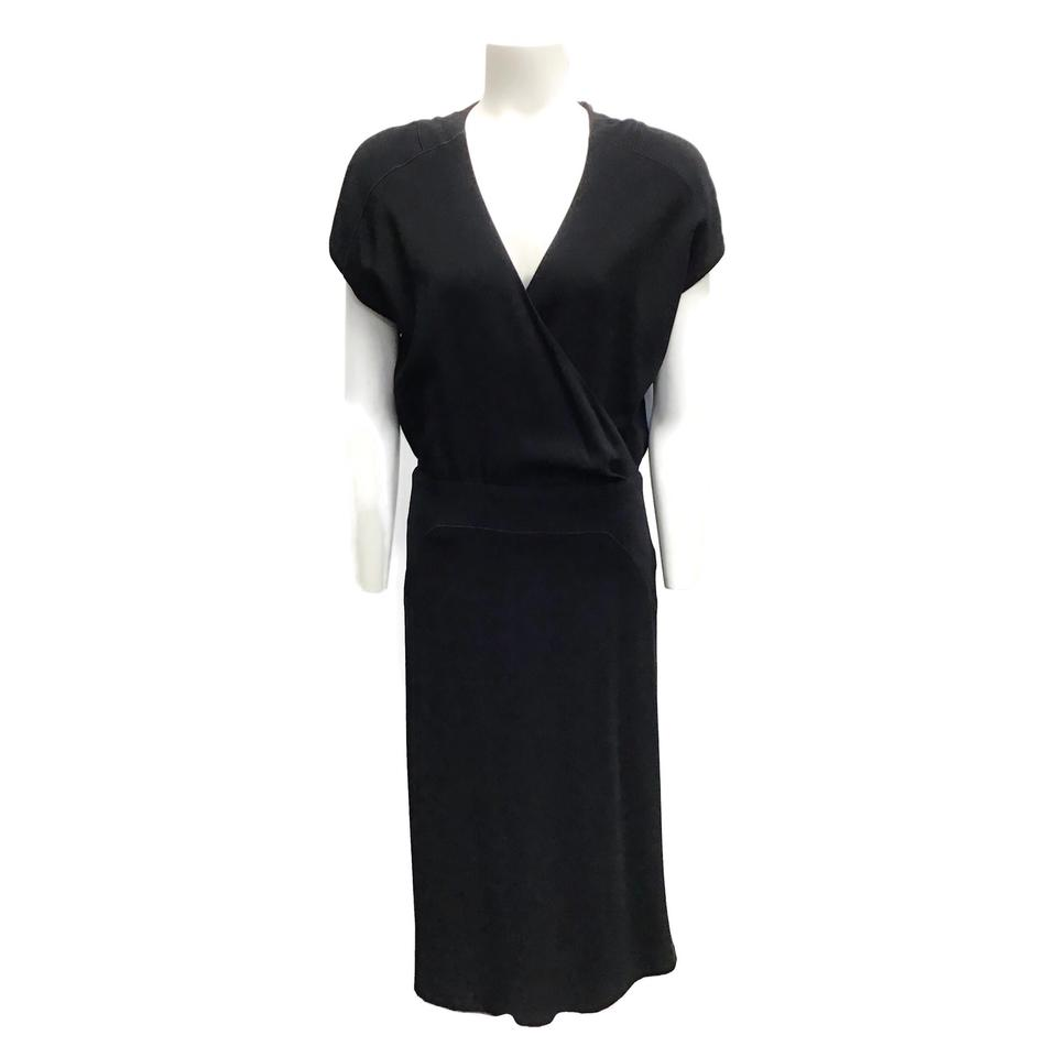 Kimora Lee Simmons Black Van Runkle Dress