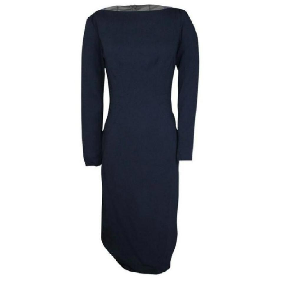 Kimora Lee Simmons Navy/Black Anderson Cocktail Dress