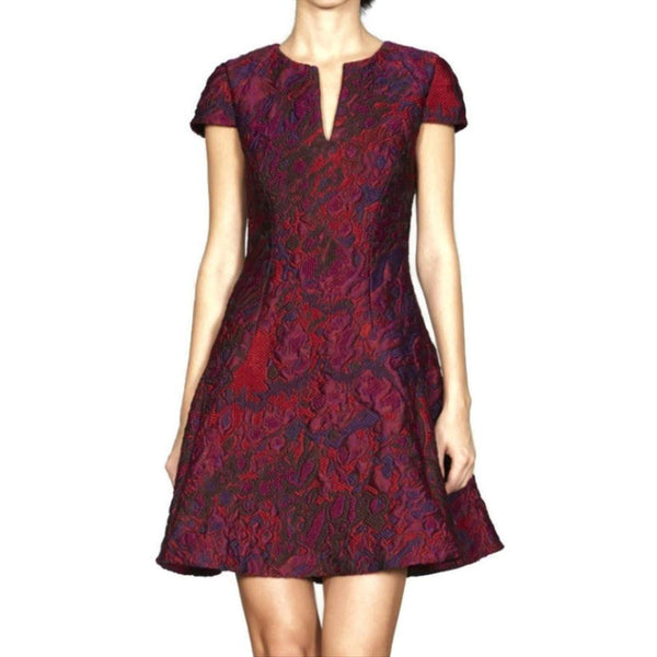 Kimora Lee Simmons Red/Purple Elsie Dress