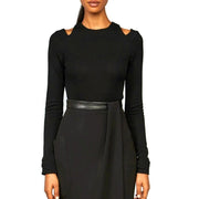 Kimora Lee Simmons Thalia Black Top